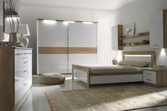 Buy affordable & unique furniture in Concept Muebles. We offer a wide assortment online : wall unit, wardrobes, sofas, tv stand, bedroom sets . Cheap Bedroom Furniture Sets, Childrens Bedroom Furniture, Bedroom Furniture Design, Room Decor Bedroom, Italian Bedroom Sets, Black Bedroom Sets, Simple Bedroom Design, Modern Bedroom, Cool Kids Bedrooms