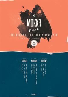 Mokka Sci-Fi Film Festival Poster