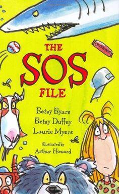 The SOS File by Betsy Byars | Juvenile Fiction: JF BYA
