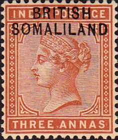 Somaliland Protectorate Queen Victoria Overprint SG 1 Fine Mint Scott  Other Somaliland Stamps HERE