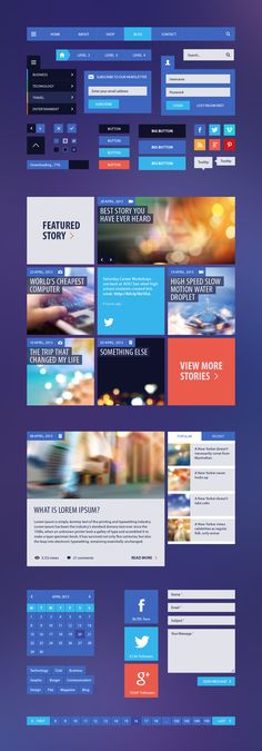 http://graphicburger.com/wp-content/uploads/2013/01/BlogMagazine-UI-Kit-Full.jpg