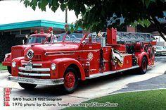 San Antonio Fire Department Seagrave Ladder Trucks