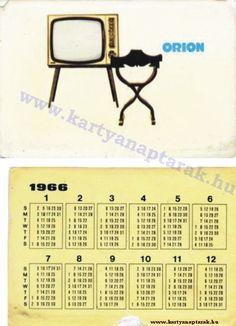 1966 - 1966_0026 - Régi magyar kártyanaptárak