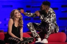 Cara Delevingne serenaded by Tinie Tempah on Graham Norton - TV - Staying In - London Evening Standard