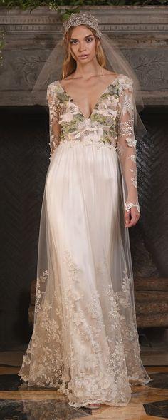 Claire Pettibone Couture Vinatge Wedding Dresses 2017 Primavera / http://www.himisspuff.com/claire-pettibone-fall-wedding-dresses-2017/2/