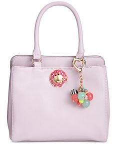Betsey Johnson Triple Donut Satchel, A Macy's Exclusive Style | macys.com
