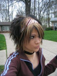 punk haircuts for medium length hair - Google Search