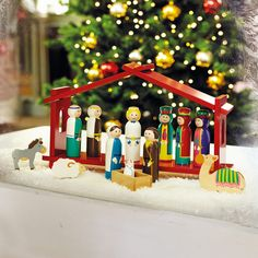 'Away in a Manger' Nativity Set - 20Percent Off Advent Calendars & Nativity - Christmas
