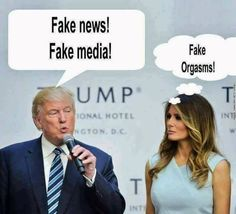 Fake everything: fake hair, fake skin, fake marriage, fake boobs, fake gold (gold plated...) fake president (Russian appointee...) and fake son (aspergers...), fake life at the White House (now known as the Fake House).