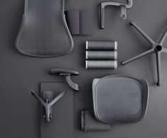 The legendary Aeron chair gor remastered. Come try the new Aeron chairs now available in our showroom #deskchair #lebanonfurniture
