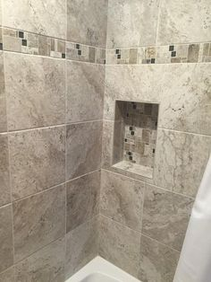 MARAZZI Travisano Trevi and Bernini 3 in. x 12 in. Glass Accent Decorative Trim Wall Tile ULNY at The Home Depot - Mobile