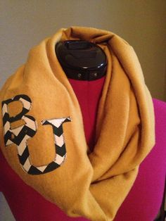 Baylor University infinity scarf  on Etsy, $22.00