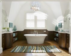 Beadboard Bathroom Tile Design, Pictures, Remodel, Decor and Ideas - page 11