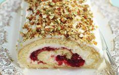 Bûche Noel fromage blanc framboises au thermomix. Je vous proposes pour les fêtes de Noël une recette de Bûche mascarpone fromage blanc framboises