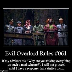 Post with 19695 votes and 692245 views. Tagged with Funny, , , ; Shared by Richelieu. May the odds be forever in your favour! Now go and vanquish shit! Writing Tips, Writing Prompts, Dnd Funny, Evil Villains, Evil Geniuses, Dark Lord, Writing Inspiration, Dungeons And Dragons, Funny Posts