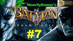 Batman Arkham Asylum Gameplay Walkthrough (PC) Part 7:Aviary Hostages/Tw...
