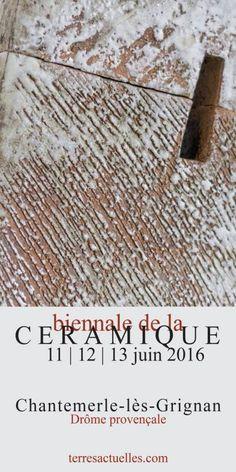 affiche Biennale de la Céramique