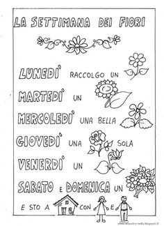 disegni, idee e lavoretti per la scuola dell'infanzia... e non solo Italian Vocabulary, First Grade, Bullet Journal, Teacher, Activities, Writing, School, Mani, Luigi