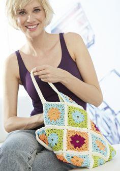 Virkattu kassi SK 3/14. Shoulder Bag, Blanket, Patterns, Crochet, Bags, Fashion, Block Prints, Handbags, Moda