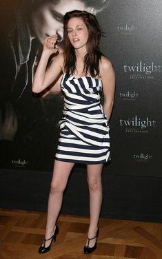 Kristen Stewart Mini Dress - Kristen Stewart Clothes Lookbook - StyleBistro