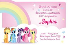 My Little Pony Birthday Party, Mini Pony, Birthdays, Parties, Invitations, Cake, Kids, Frases, Fiestas
