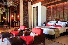 inside of villa One&Only Reethi Rah