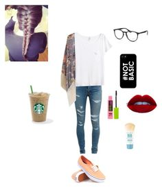 """maybe a first week of school outfit"" by anna-gracie ❤ liked on Polyvore"