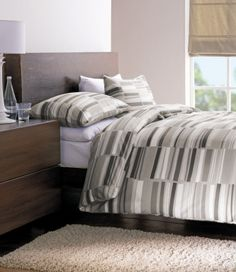 Memphis Natural Duvet Cover Set, King Size