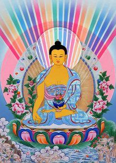 I uploaded new artwork to fineartamerica.com! - 'Medicine Buddha 1' - http://fineartamerica.com/featured/medicine-buddha-1-lanjee-chee.html via @fineartamerica