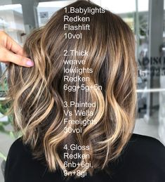 Painted Ribbons 🍯 Swipe for processing video & before ▶ Hair Color And Cut, Ombre Hair Color, Hair Colors, Redken Hair Color, Hair Color Formulas, Redken Color Formulas, Redken Hair Products, Hair Color Techniques, Hair Highlights