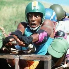 """movie Cool Runnings, Sanka Coffie, """"I am feeling very Olympic today, how about you?"""""""