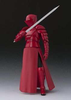 Star Wars S.Figuarts Elite Praetorian Guard w/ Heavy Blade (The Last Jedi) Star Wars Rpg, Star Wars Toys, Star Trek, Star Wars Episode 2, Star Wars Facts, Star Wars Pictures, Future Soldier, Royal Guard, Star Wars Wallpaper