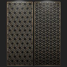 Laser Cut Panels, 3d Panels, Laser Cut Metal, Pattern Wall, Wall Patterns, Cnc Cutting Design, Geometric Furniture, Grill Door Design, Bamboo Lamp