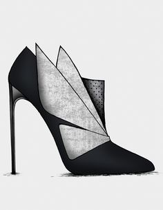 The Black & Blue - Collection- Guillaume Bergen Fab Shoes, Pretty Shoes, Crazy Shoes, Beautiful Shoes, Me Too Shoes, Shoes Heels, High Heels, Pumps, Shoes 2018