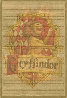 Gryffindor Stationery Option3 by Sinome-Rae