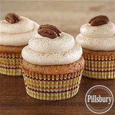 Banana Spice Cupcakes from Pillsbury® Baking