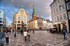 Copenhagen - cleanest place I've ever been.  Loved the blue tarnished steeples and the pastry/danishes were to die for.