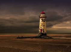 Point of Ayr lighthouse by eddiel91 on 500px