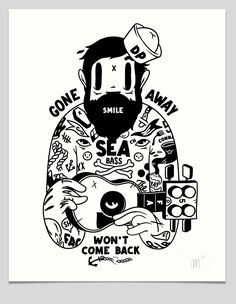 The mcbess Captain screen print for The Dudes. Shop the latest graphic and illustration garments, art and lifestyle products at The Dudes Factory Berlin. Cartoon Drawings, Cartoon Art, Betty Boop, Mc Bess, Graphic Design Illustration, Illustration Art, Sailboat Art, Old Cartoons, Drawing Reference Poses