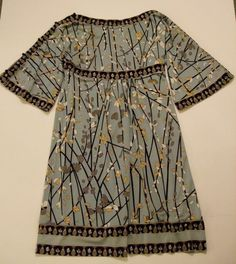 This dress from bcbg max #azria #dress blue will transition from Summer into Fall Winter 2014 beautifully,