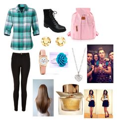 """""""Going to see Zoe,Alfie,Marcus,jack and Finn ;)"""" by leila-hussain ❤ liked on Polyvore featuring The North Face, Lanvin, Bamboo, Bric's, Elsa Peretti, Finn and Burberry"""