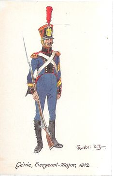 French; Engineers, Sergeant-Major, 1812