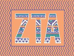 tribal cute ZTA.