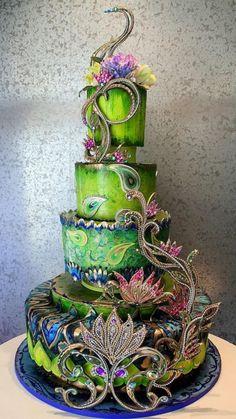 Awesome Wedding Cake!
