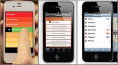 iOS: Tres adminsitradores de tareas para tres tipos de usuarios diferentes.