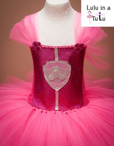 Skye Paw Patrol Inspired Tutu Dress by LuluInATutuUK on Etsy