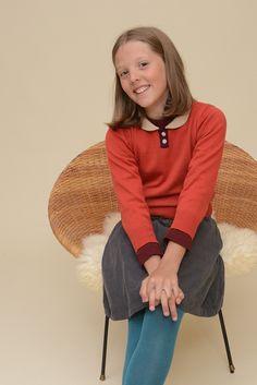 Peter Pan Collar Sweater | Olive Juice #girlsfashion