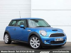 Blue 2008 Mini Cooper S, from £176p/m on finance