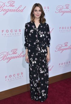 Sofia Coppola What: Valentino Where: At the premiere of The Beguiled, Los Angeles, California