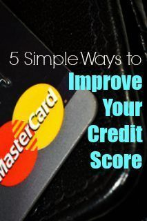 Your credit score is important for many reasons- which is why so many people want to improve theirs! Here are 5 simple ways to improve your credit score. Credit Scores, #CreditScores